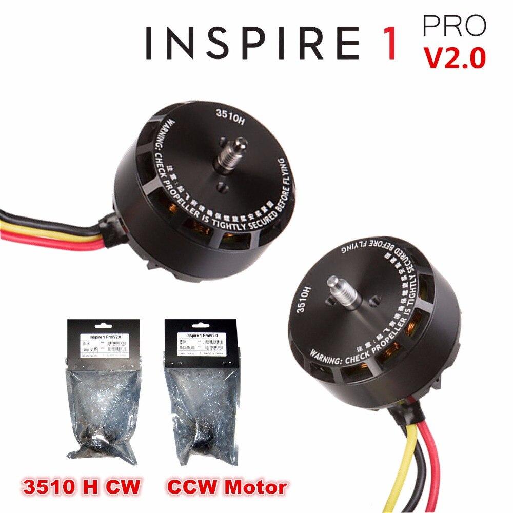 GENUINE DJI Inspire 1 PRO V2 0 Part Brushless CW CCW 3510H Motor CW M2 M4