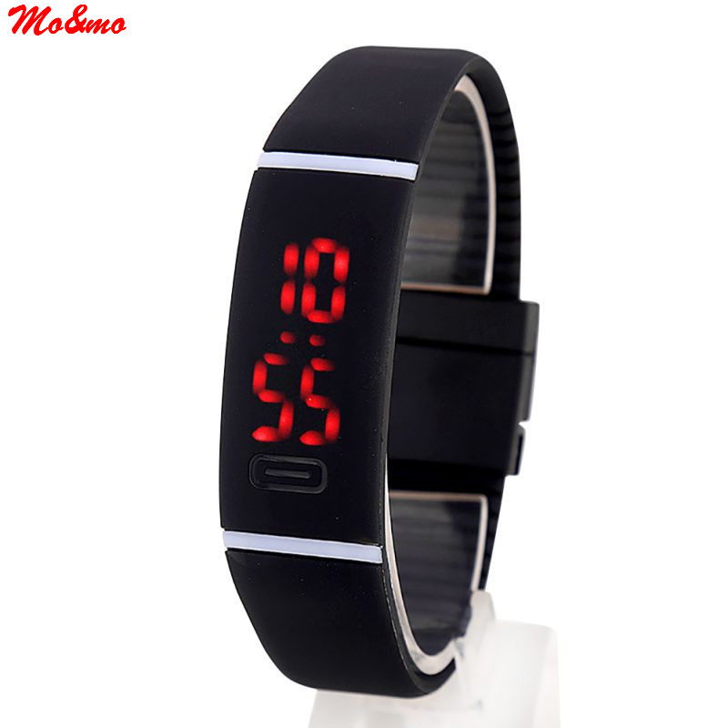 Children Women Men Upgrade Section Waterproof LED Bracelet font b Watches b font font b Watch