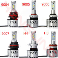 2PCS Led Car Bulbs 8G 72W 12000LM 9007 9006 H8 H13 Headlamp For Honda Audis Head