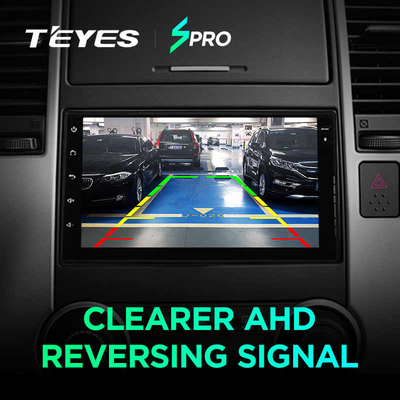 Teyes SPro Автомобильный мультимедийный плеер android 8,1 для Mazda almera Toyota Volkswagen Nissan Kia VW qashqai juke peugeot LADA 2Din