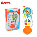 Baby Musical Phone Toy Kids with sound light Learning Study Musical Sound Cell Phone Child electric music phone Educational toy