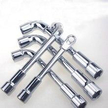 Гаечный ключ торцевой из хромованадиевой стали 6 13 мм 7 типов