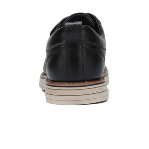 Image 3 - CAMEL Men Shoes Autumn Genuine Leather Man Strap Casual Polished Cowhide Footwear Male Cushioning Lace up Flats