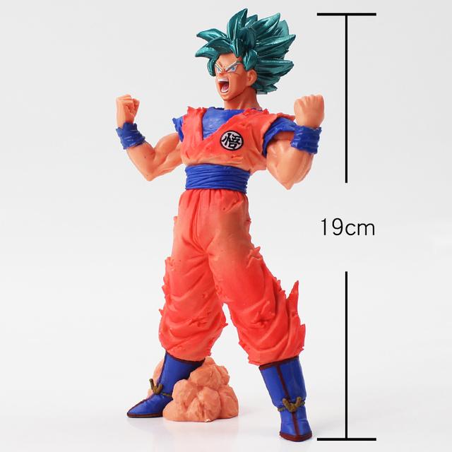19cm Dragon Ball Super Saiyan Son Goku Kaiohken Son Gokou Kakarotto Dragonball Blood of Saiyans KAIOHKEN pvc action figure model
