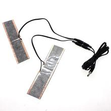 5 В USB водонепроницаемые нагревательные перчатки с электрическим подогревом, стельки для ног, теплые ботинки, обувь, зимние уличные лыжные стельки для утепления