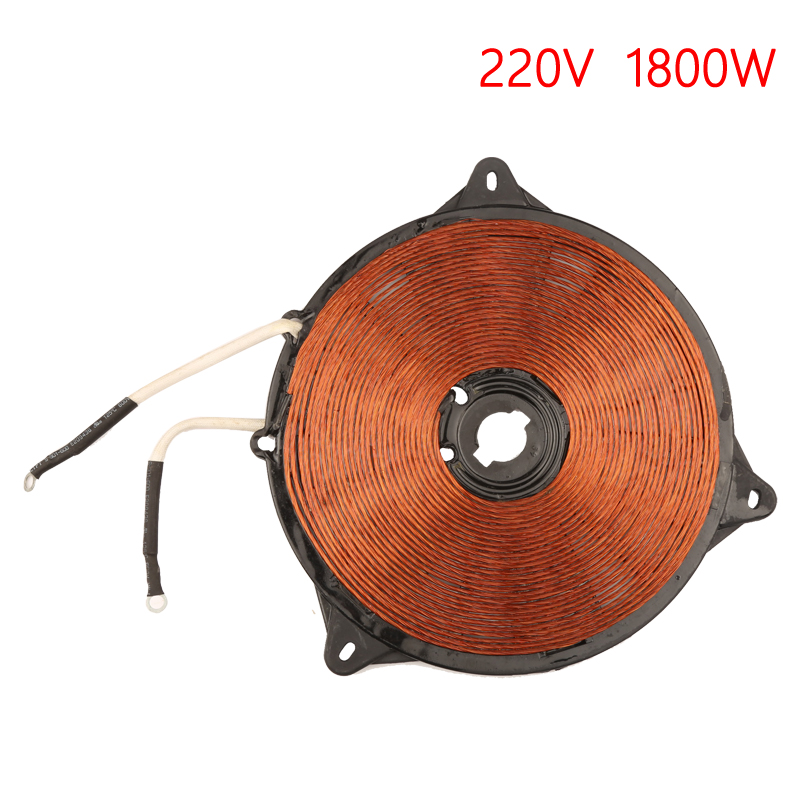2000W 195mm Induction Heat Coil Enamelled Aluminium Wire Induction Heating P…