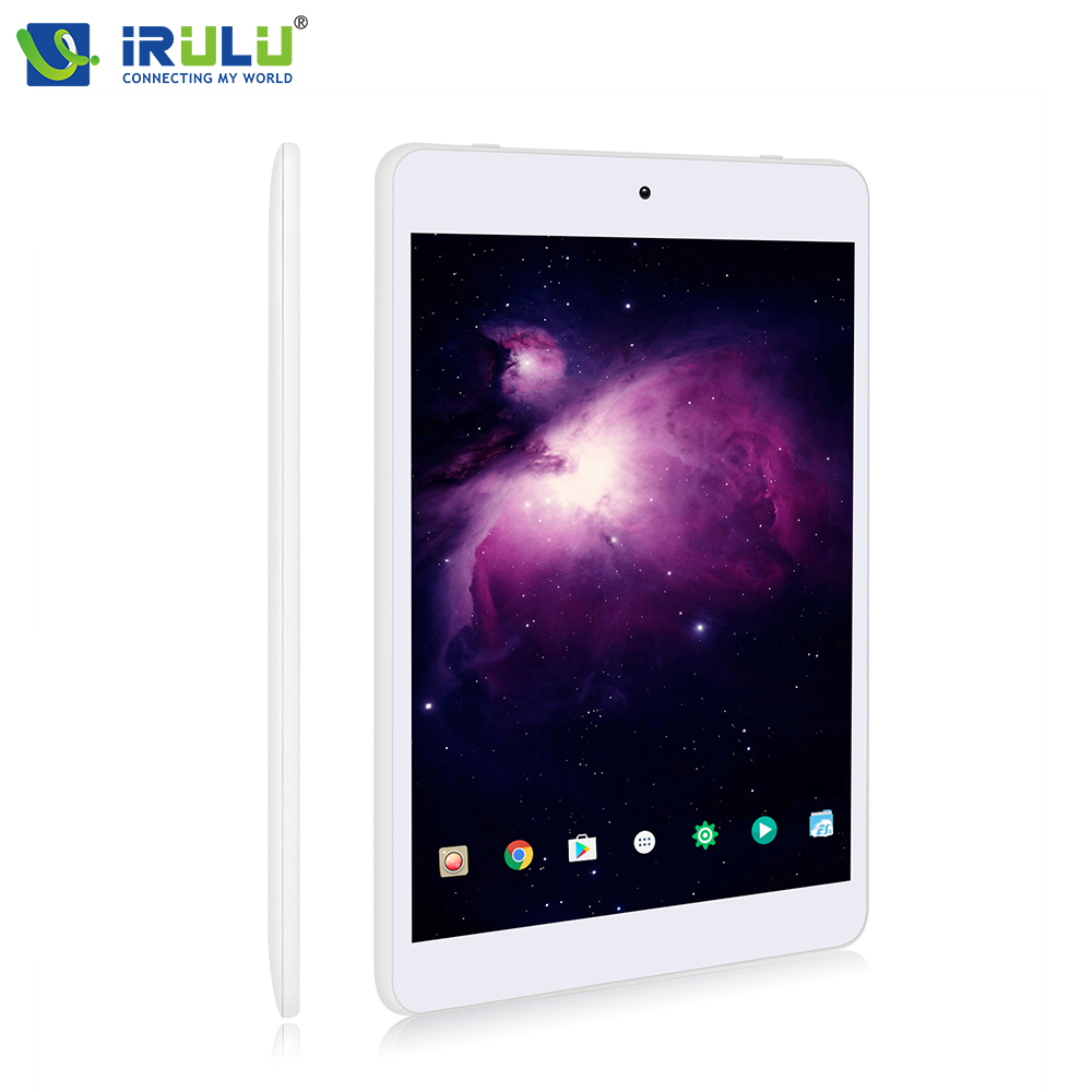 New iRULU X58 S Tablet Android 7.0 Quad Core 7.85 IPS HD 16:9 Screen ROM 16GB Daul Cam Bluetooth WIFI GMS Certified Touch Panel hd 4kx2k s905 quad core 2 4ghz wifi