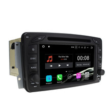 Android 7.1.1 2GB RAM Quad Core 16GB ROM Android Car DVD Multimedia Player for Benz CLK class C209 W209/C W203/A W168/Viano/Vito