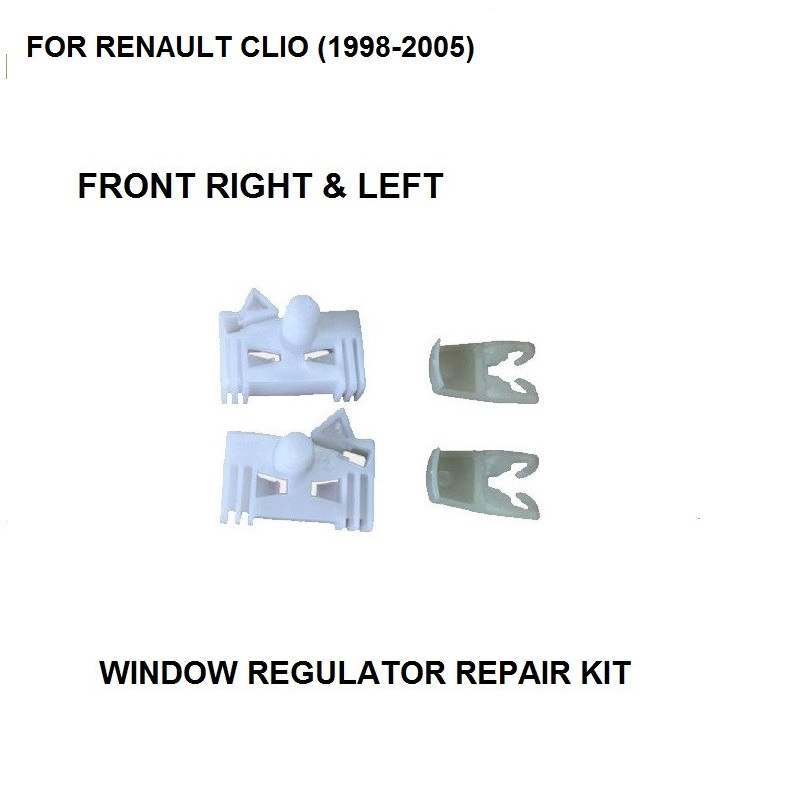 LAGUNA II 2 ELECTRIC WINDOW REGULATOR CLIP REAR  L /& R