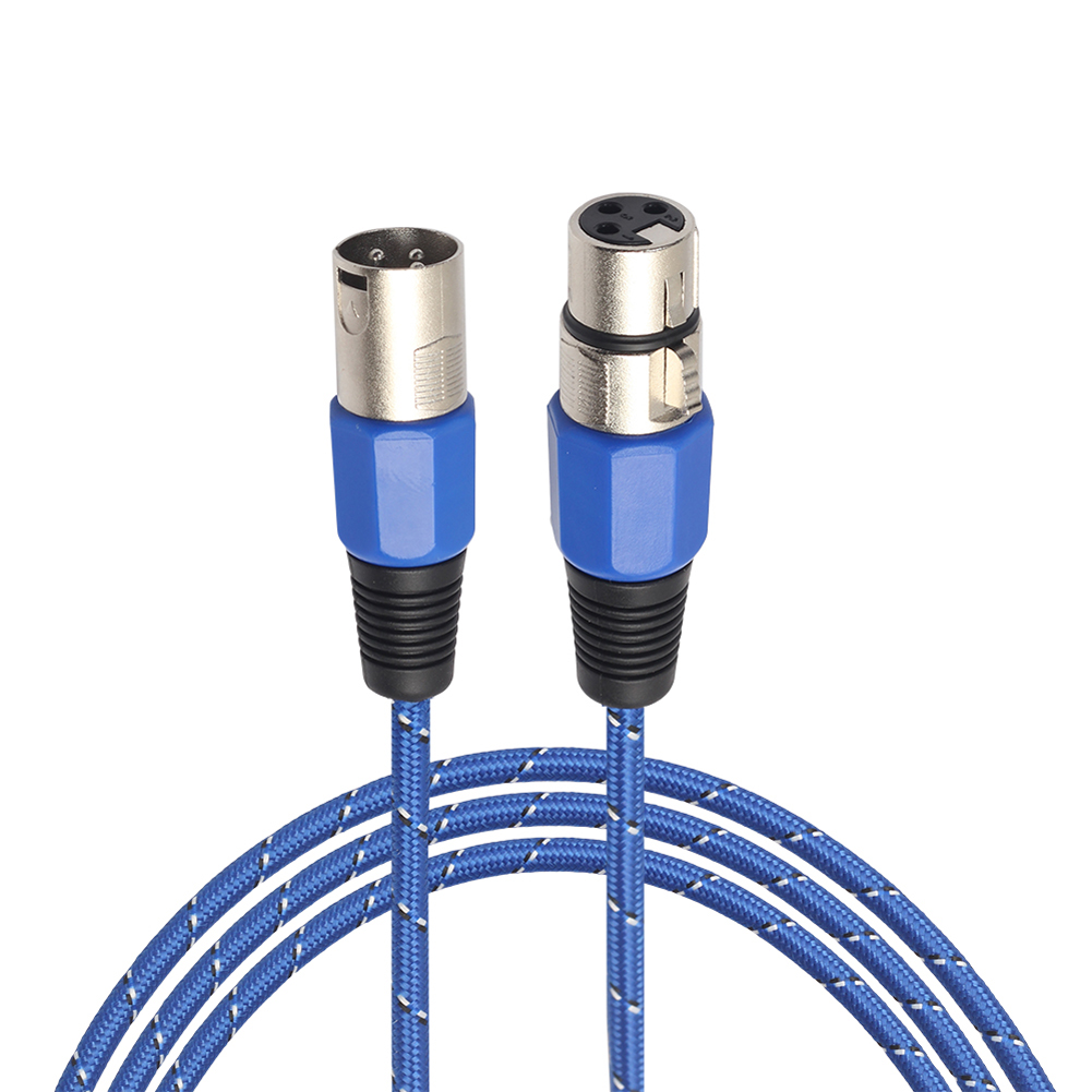 1 mt 1,8 mt 3 mt 3 Pin Xlr stecker auf Buchse Mikrofon Kabel ...
