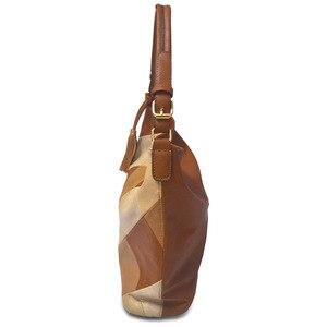 Image 3 - Borse di lusso Borse Delle Donne Del Progettista Casual Tote Borse A Spalla Per Le Donne 2020 della rappezzatura Delle Signore Sacchetto di Mano di CUOIO Dellunità di elaborazione Grande sac bolsa