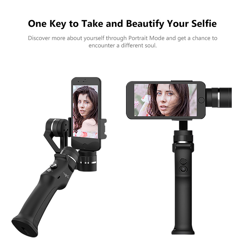 EYEMIND Smartphone Handheld Gimbal 3-Axis Stabilizer for Phone Action Camera Bluetooth APP Selfie Stick Estabilizador wewow sport x1 selfie stick wearable smartphone gopro 1 axis gimbal stabilizer action camera one axis steadicam mount f19361