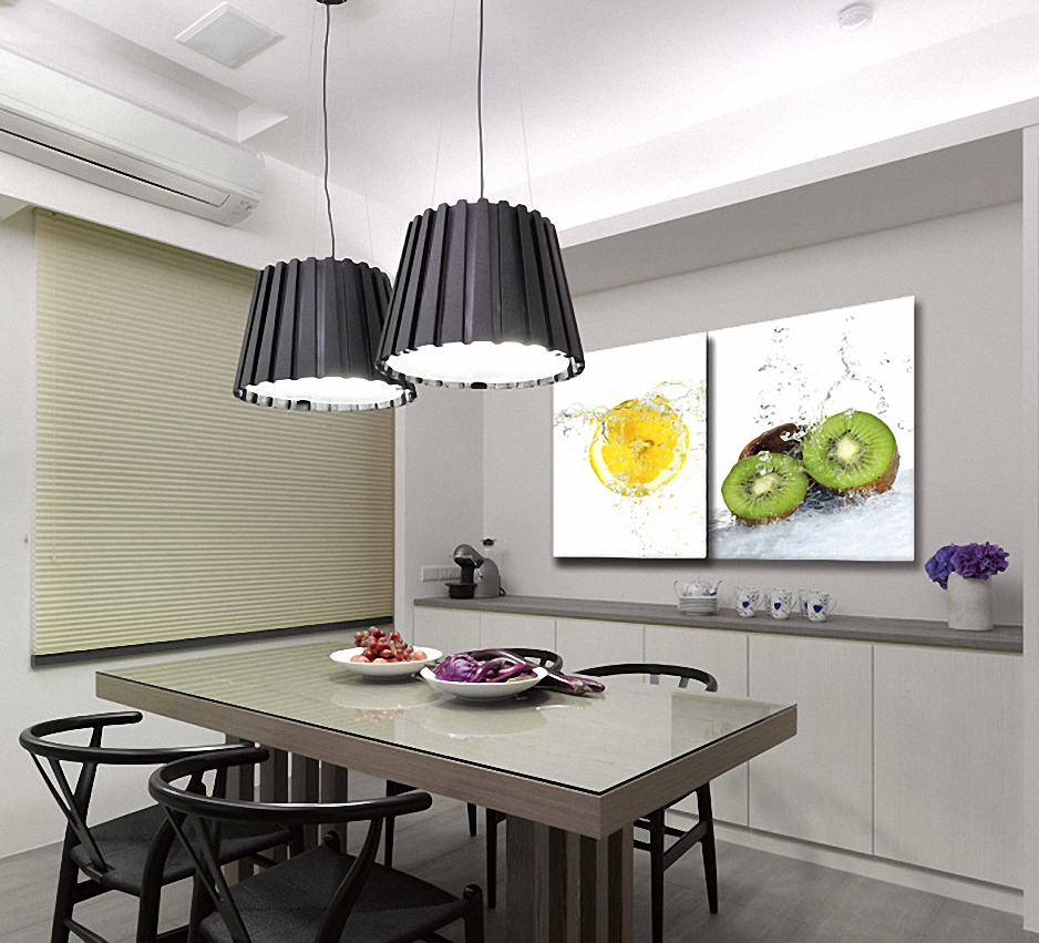 dcoration murale cuisine moderne quelle couleur de. Black Bedroom Furniture Sets. Home Design Ideas