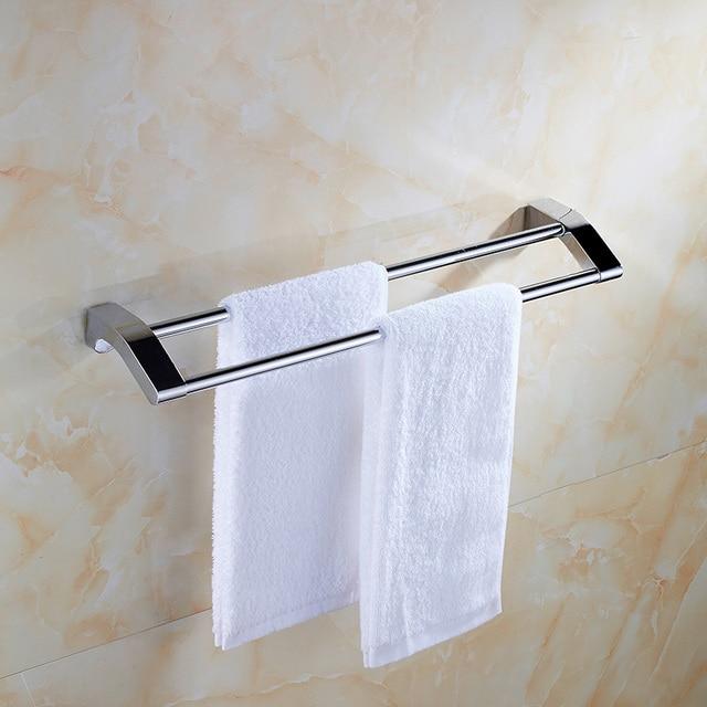 Gratis verzending 304 rvs handdoekhouder badkamer rack, hardware ...