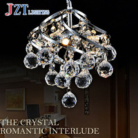 J Mordern Duplex Staircase K9 Crystal Chandelier Villa Luxury Hotel Stair Pendant Lamp LED Spiral Long