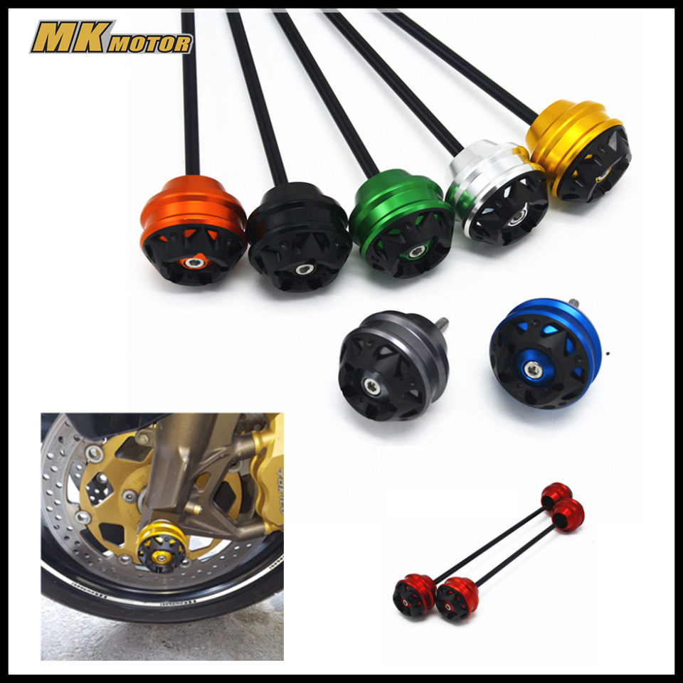 For KYMCO AK550 AK 550 2017 CNC Modified Motorcycle Accessoris Front wheel drop ball / shock absorber