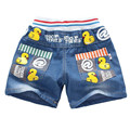 New summer children's clothing baby boys girls jeans children cartoon trousers short pants retail 2-5 years old free shipping