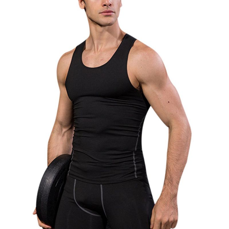 Casual Gilet Männer Oansatz Tank Tops Sommer Männlichen Bodybuilding Plus Größe 3xl Fitness Männer Quick-dry Ärmellose Weste
