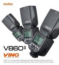 Ving V860II V860II-C/N/S E-TTL HSS 1/8000 Without VB18 Battery Speedlite Flash For Canon Nikon Sony Olympus Panasonic Fujifilm