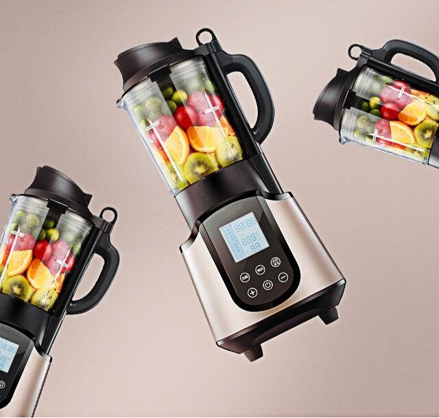 Misturadores de parede quebrada máquina do alimento aquecimento duplo-copo de vidro inteligente multifuncional household automática assistida do bebê NOVO
