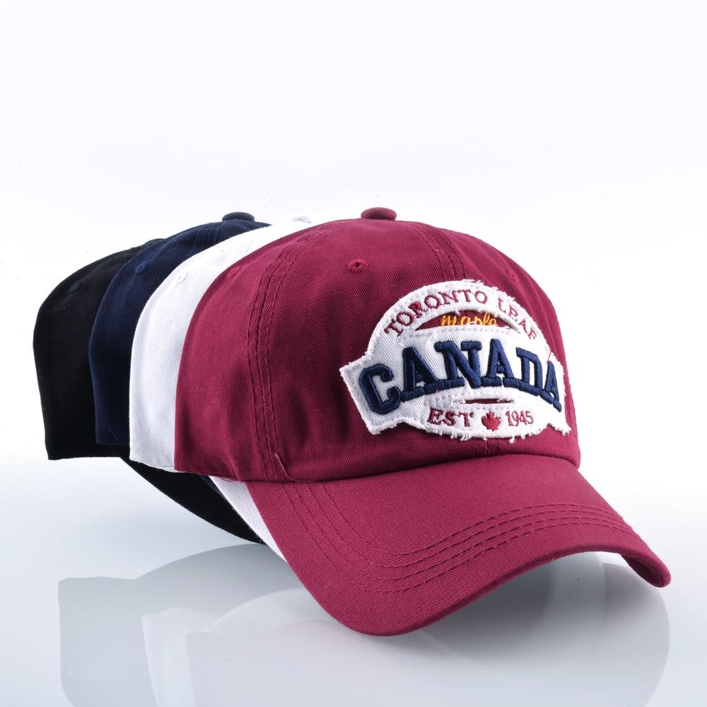 954ad3f292 Καναδάς Βαμβάκι Snapback Casual Καπέλο Γυναικεία Καπέλα Γράμματα ...