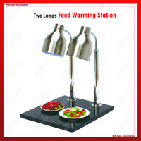 PSD2 Electric Fast Food Equipment Food Warming Lamp Food Warmer Chafing Dish Equipment Buffet Equipment