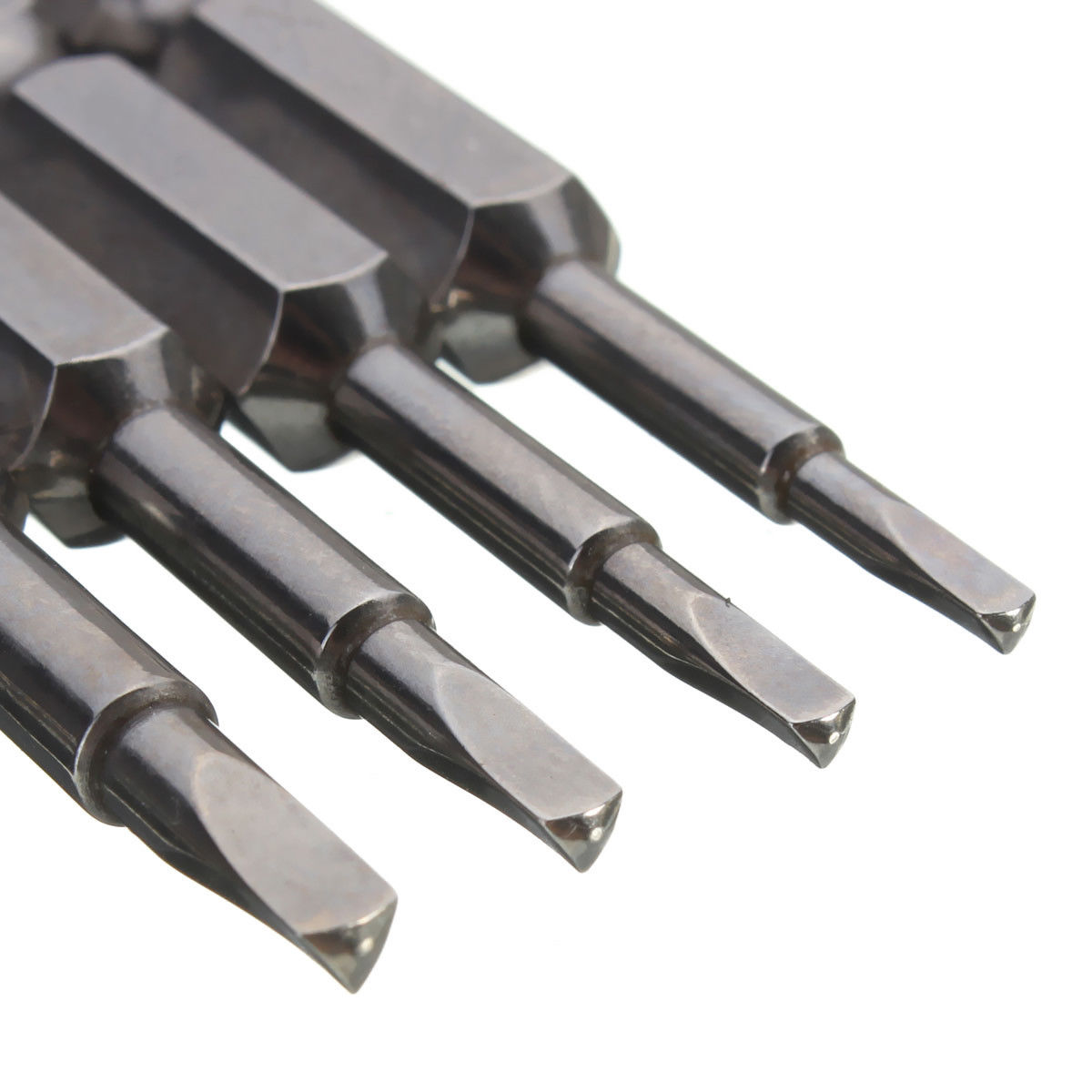 Bestgle 12 Unids 50mm Phillips Destornillador Bits Set Magn/ético Acero S2 Eje Hexagonal de 1//4 de Pulgada Destornillador Bits Set Tool