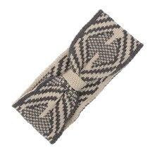Chocantes Mostram Mulheres Knitting Hairband Headband Handmade Manter Aquecido