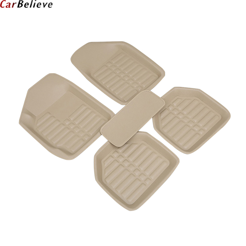 Car Believe car floor Foot mat For suzuki jimny ignis alto swift liana grand vitara 2007 sx4 s-cross wagon r accessories carpet car trunk mat for suzuki swift suzuki jimny grand vitara sx4 ignis car accessories