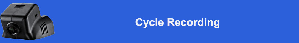 Cycle Recording