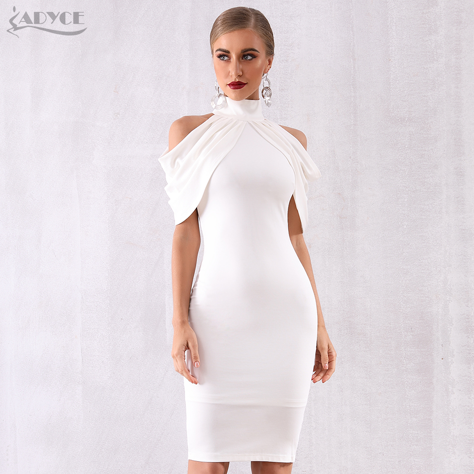 Image 2 - Adyce 2020 New Summer Celebrity Evening Party Dress Women Elegant