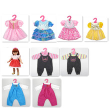 """New Design 45cm 18"""" American Girl Doll Clothes Made By Good Quality Cloth Fit For 18inch American Girl Doll /BJD Doll Hot Gift"""