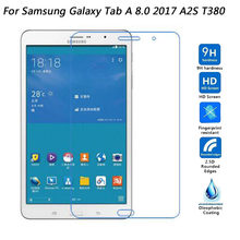 For Samsung Galaxy Tab A 8.0 2017 T380 T385 Tab A2 S A2S 8.0 inch Tempered Glass Screen Protector Film(China)