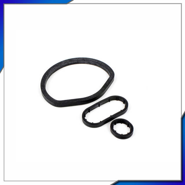 US $32 5 |auto parts 3pcs oil cooler Gasket for MERCEDES BENZ W202 W203  CL203 S202 S203 C208 M112 OEM# 1121840261,1121840361,1121840061-in Intake