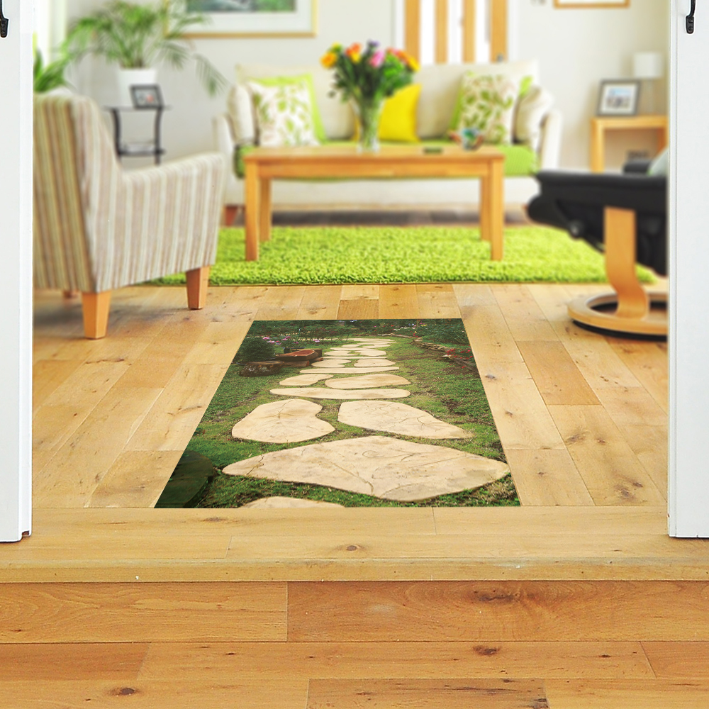 Aliexpress.com : Buy Funlife Flower Lawn 3D Floor Sticker DIY ...