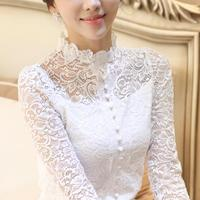 2016 Summer Princess Sweet Lolita Blouse Candy Rain Japanese Style The Princess Lace Flower Collar Fairy