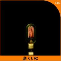 50 шт. Винтаж Дизайн Эдисон накаливания E27 B22 Светодиодные лампы, 45 40 Вт энергосберегающих украшение лампы заменить лампы накаливания AC220V