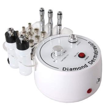 3 in1 diamant Microdermabrasion Machine à peler par pulvérisation d'eau Exfoliation Dermabrasion Machine élimination des rides Peeling du visage pour SPA