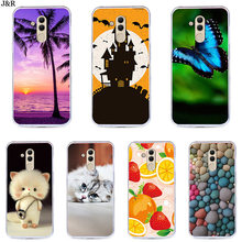 J&R Case For Mate 20 Lite Pro Mate 10 Soft TPU Phone Cover For Huawei P30 P20 Pro Nova 3 4 Cartoon Pattern Phone Bags(China)
