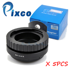 Pixco 5pcs of B4-M4/3, Lens Adapter Suit For B4 2/3 For Canon For Fujinon ENG Lens to Suit for Micro4/3 Camera