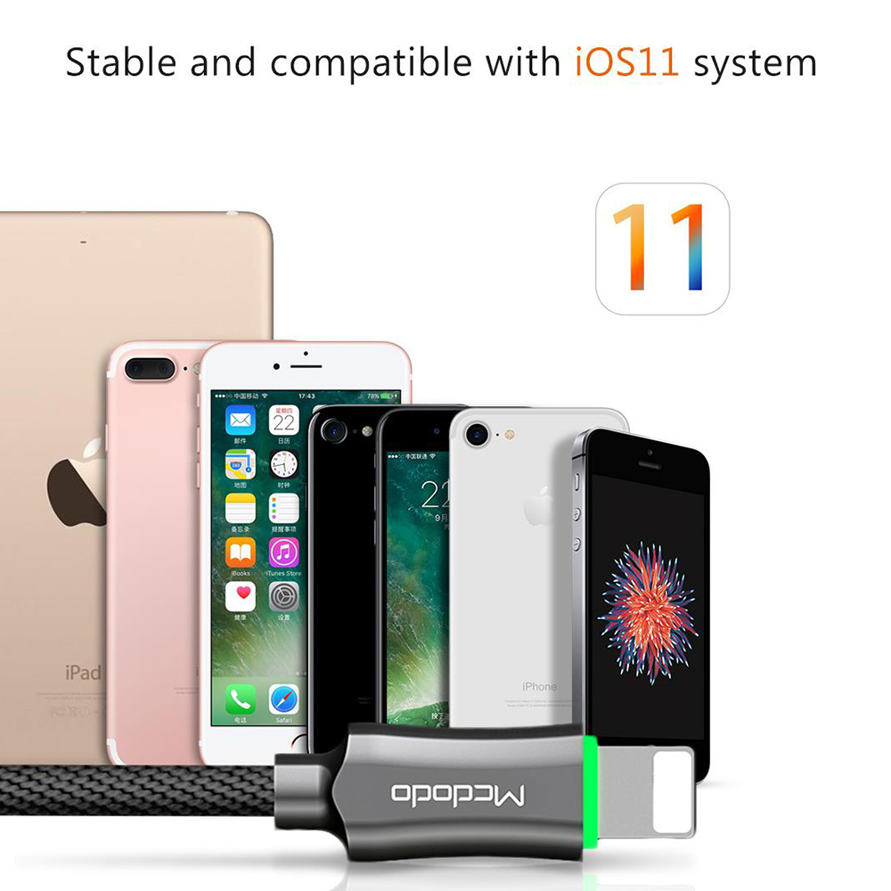 Mcdodo Lightning To Usb Cable For Iphone 7 Cable Smart