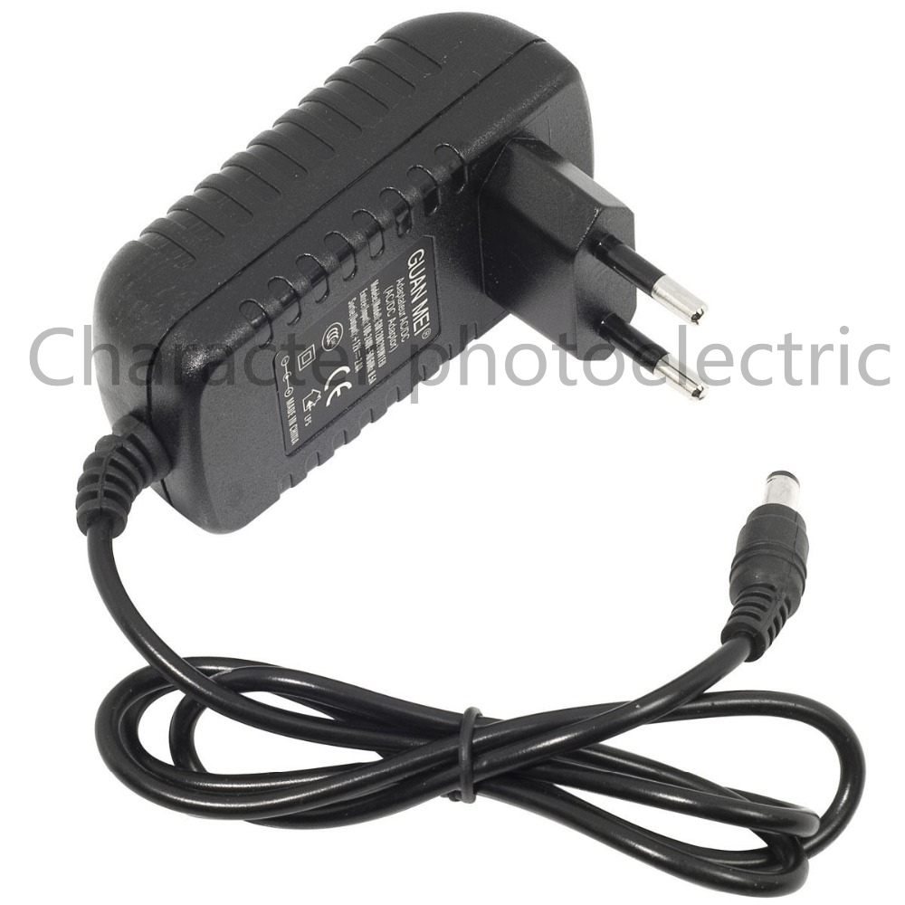1Pc Supply Charger Ac Dc 12V 2A Power Supply Converter Adapter Switching Power AC 100-240V To DC  For 3528 5050 Strip LED