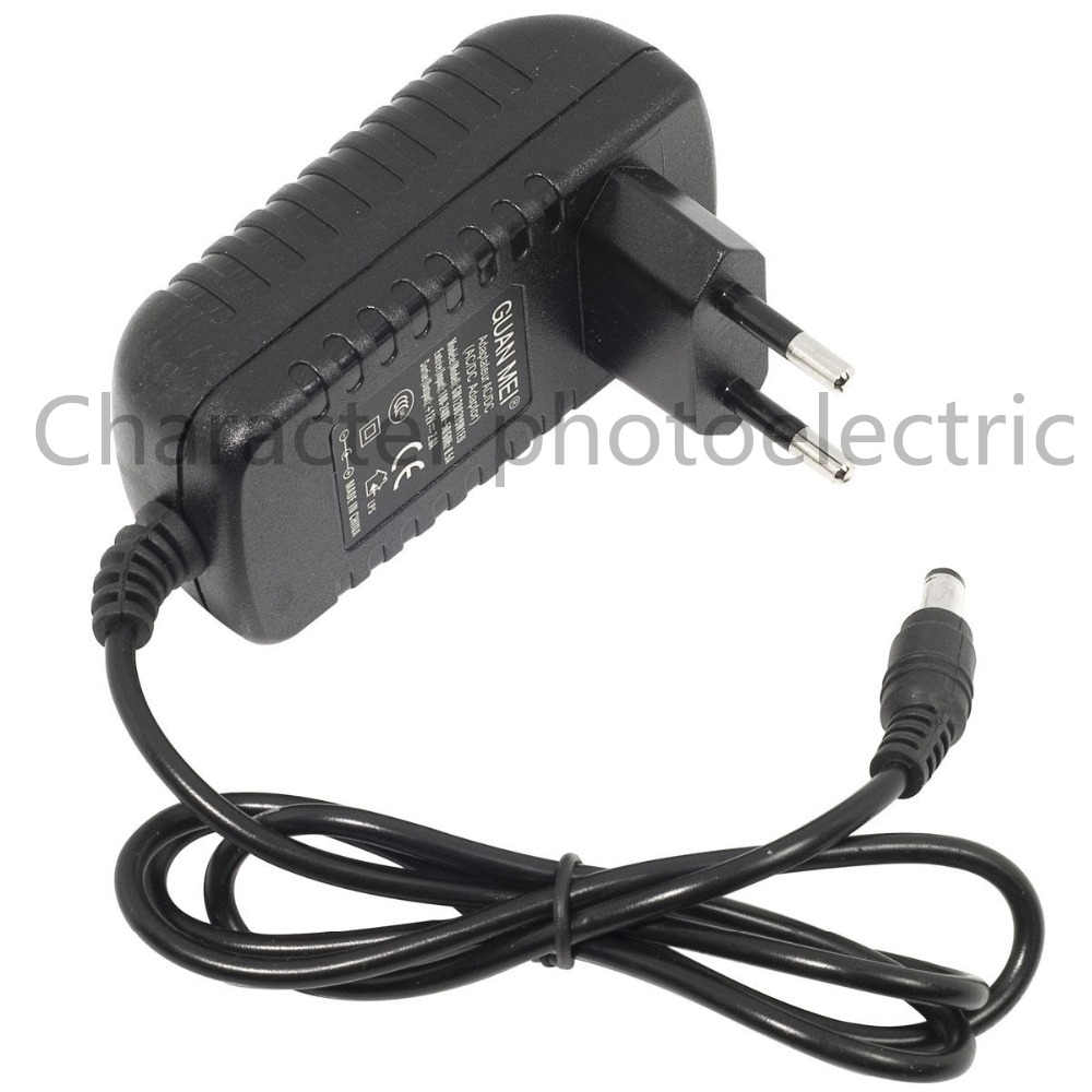 1 PC Supply Charger AC DC 12 V 2A Power Supply Converter Adapter Switching Power AC 100-240 V ke DC untuk 3528 5050 LED Strip
