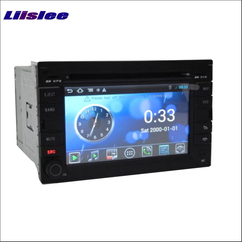 Liislee For Citroen C2 / C3 2002~2009 Radio Stereo DVD Player HD Screen Audio Stereo GPS Map Navi Navigation Android S160 System stereo system
