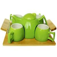 European simple innovative tea sets ceramic teapot sets home tea teapot cups factory direct