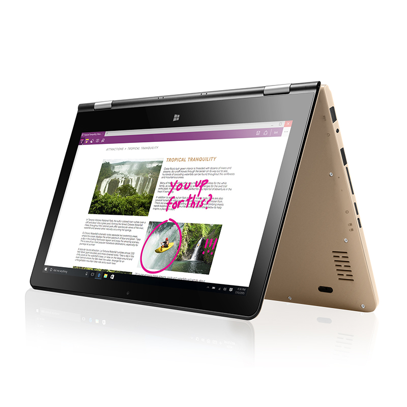 11.6''Touchscreen Notebook N3450 VOYO VBOOK Camera Computer Quad Core L
