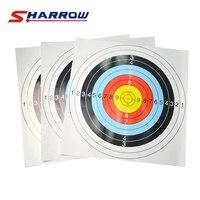 8 Pcs Archery Target Paper 59.5 cm X 59.5 cm Fit For Compound Bow Recurve Bow Shooting Accessories