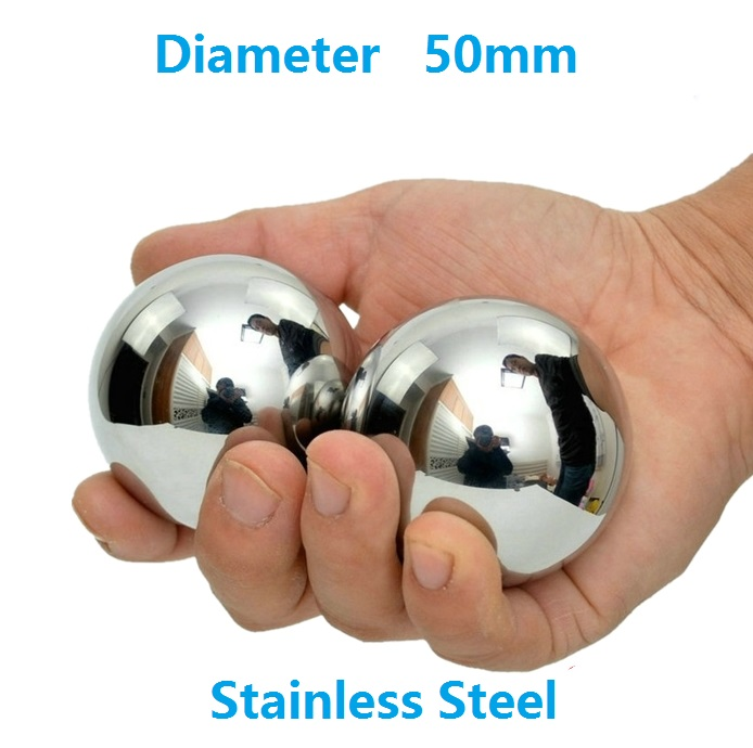 2pcs Diameter 50mm stainless steel balls SUS304 precision Dia 50 mm for bearing ball steel ball 2pcs diameter 50mm stainless steel balls sus304 precision dia 50 mm for bearing ball steel ball