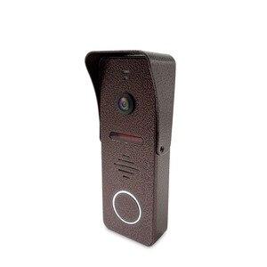 Image 4 - Dragonsview görüntülü interkom kapı telefonu sistemi 7 inç monitör kapı zili kamera ile hareket algılama geniş açı 130 derece kayıt