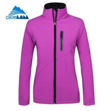 New Water Resistant Windstopper Sport Fishing Hiking Softshell Outdoor Jacket Women Camping Coat Fleece Liner Chaquetas Mujer